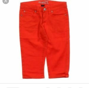 3 for $20 sale Rue 21 red Bermuda shorts